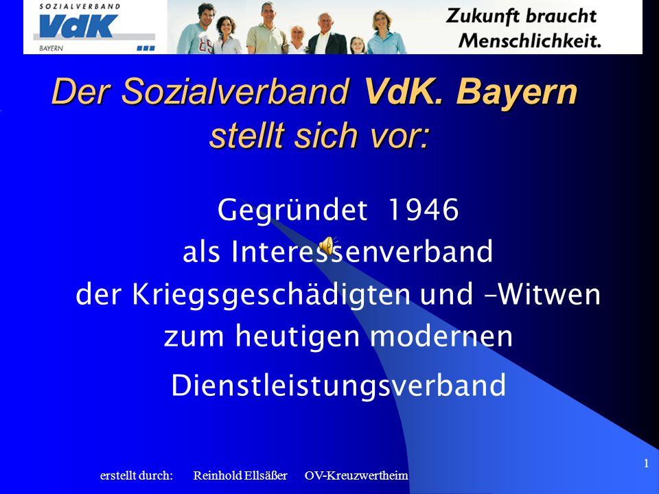 Der Sozialverband VdK. Bayern stellt sich vor: