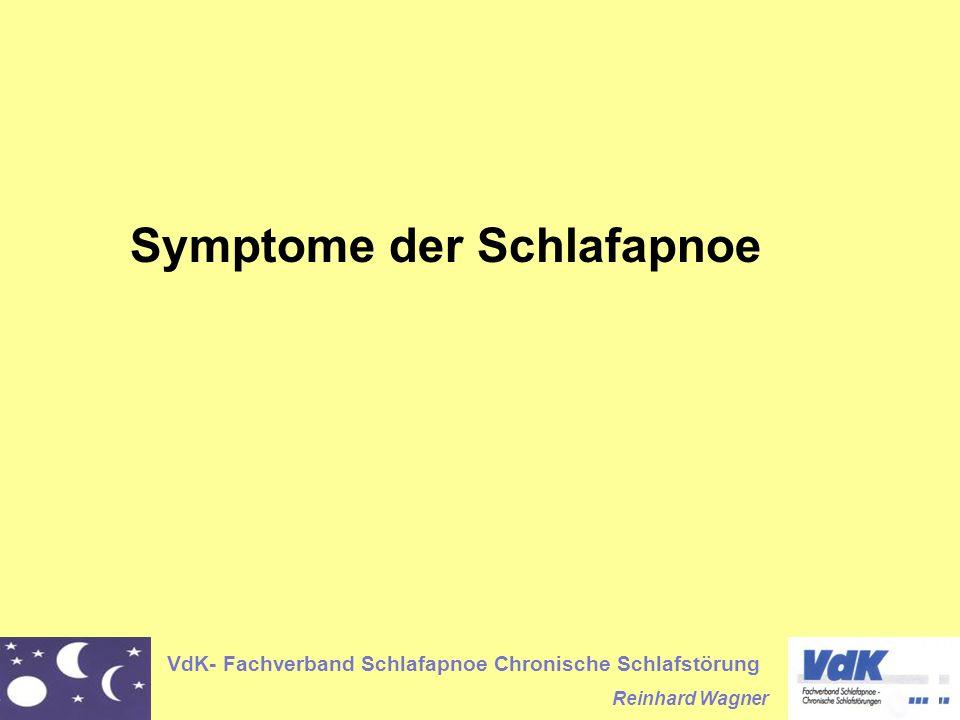 Symptome der Schlafapnoe