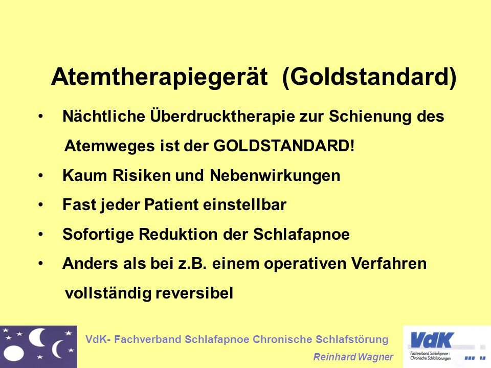 Atemtherapiegerät (Goldstandard)