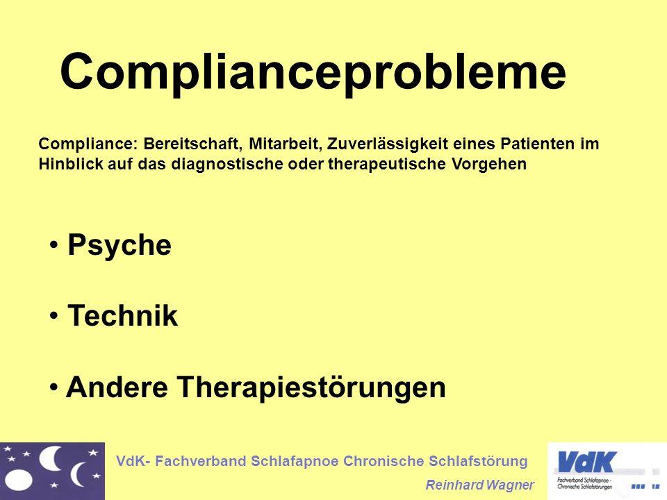 Complianceprobleme Psyche Technik Andere Therapiestörungen