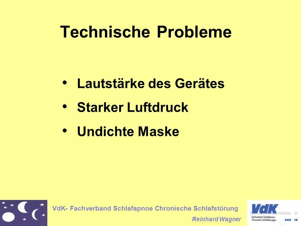 Technische Probleme Lautstärke des Gerätes Starker Luftdruck
