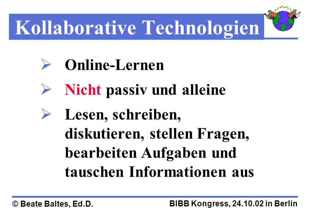 Kollaborative Technologien
