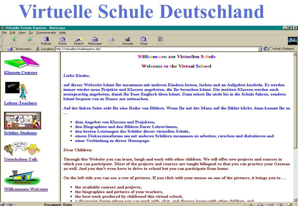 Virtuelle Schule Deutschland