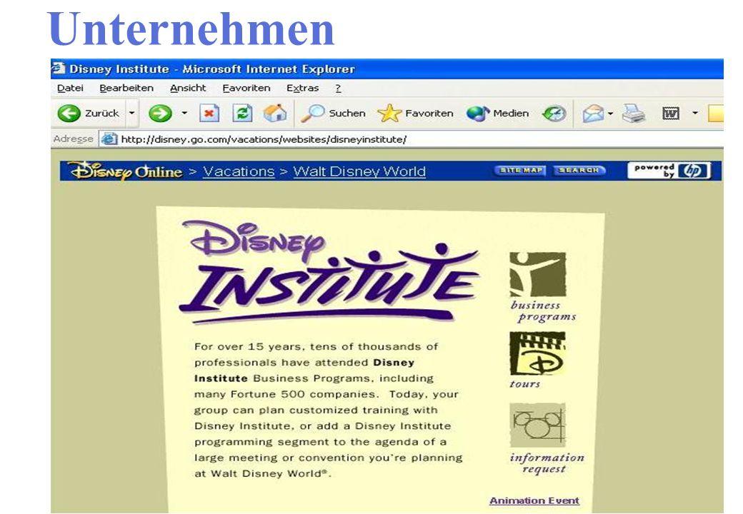 Unternehmen Interaktive Webseite Ergebnisse besprechen