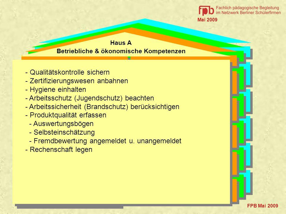 Betriebliche & ökonomische Kompetenzen