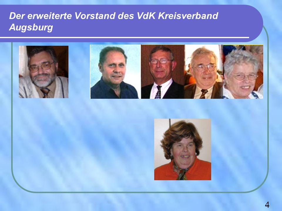 Der erweiterte Vorstand des VdK Kreisverband Augsburg