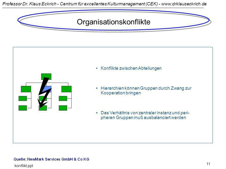 Organisationskonflikte