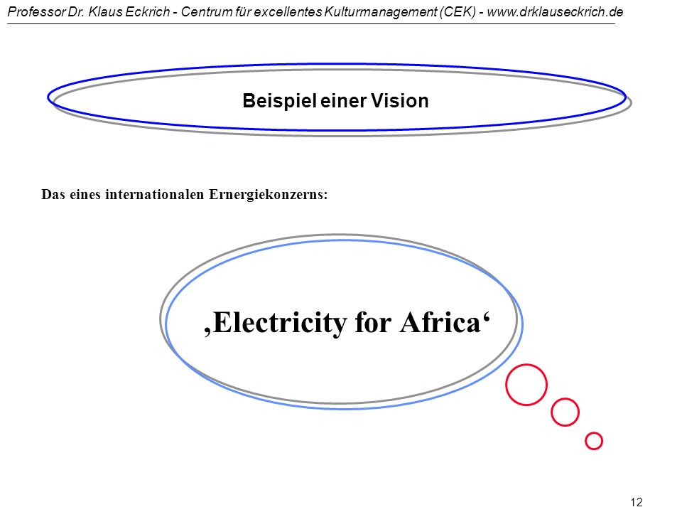 'Electricity for Africa'