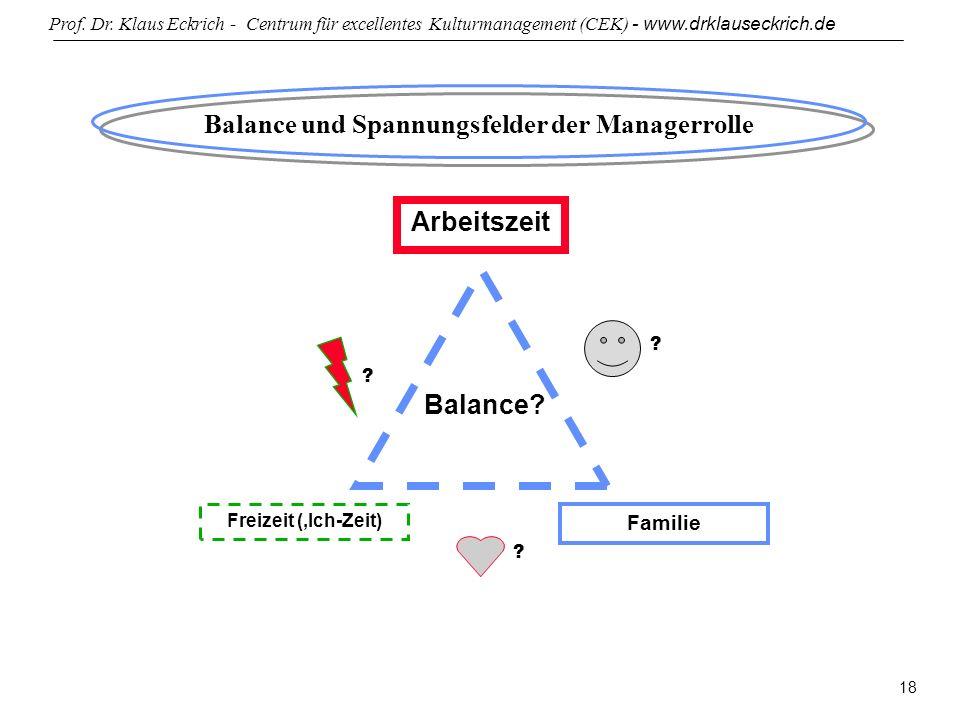 Balance und Spannungsfelder der Managerrolle