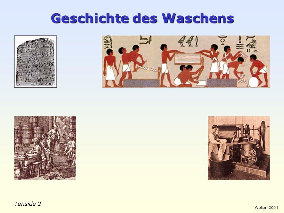 Geschichte des Waschens
