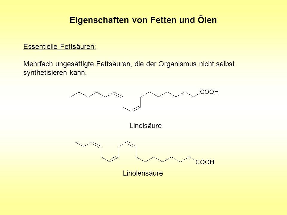 Eigenschaften von Fetten und Ölen