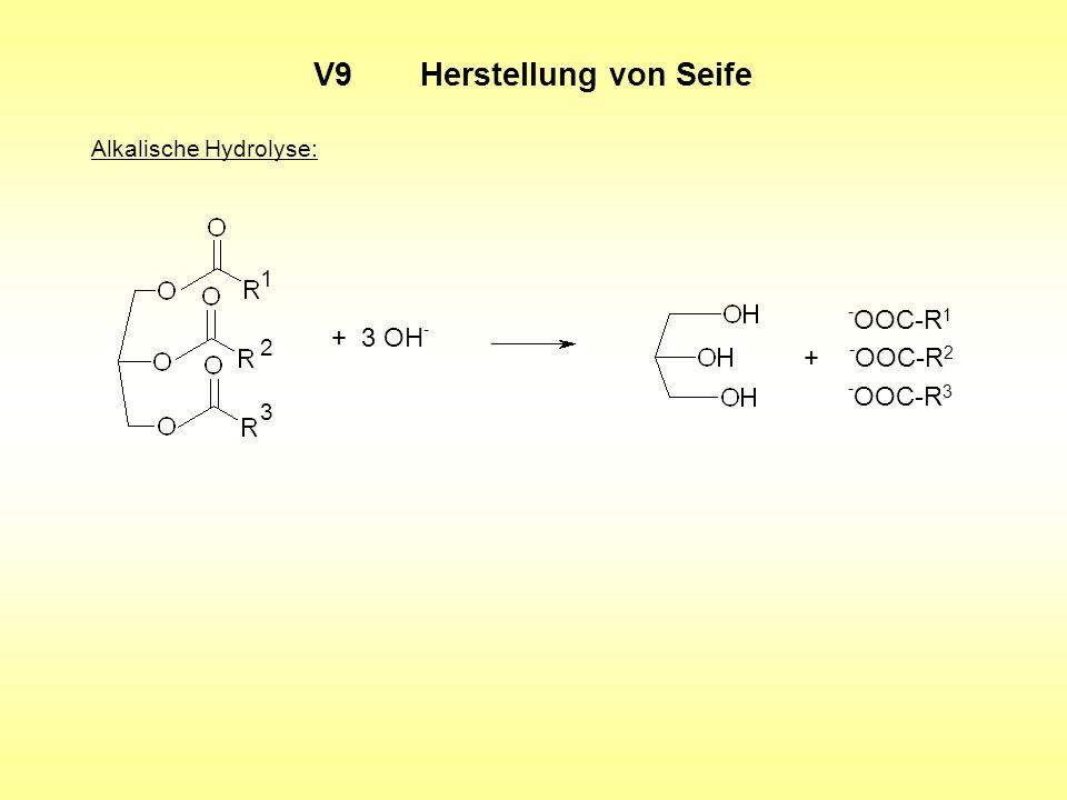 V9 Herstellung von Seife
