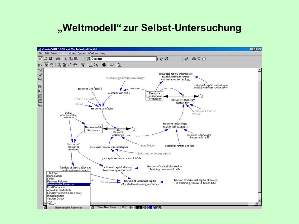 """""""Weltmodell zur Selbst-Untersuchung"""