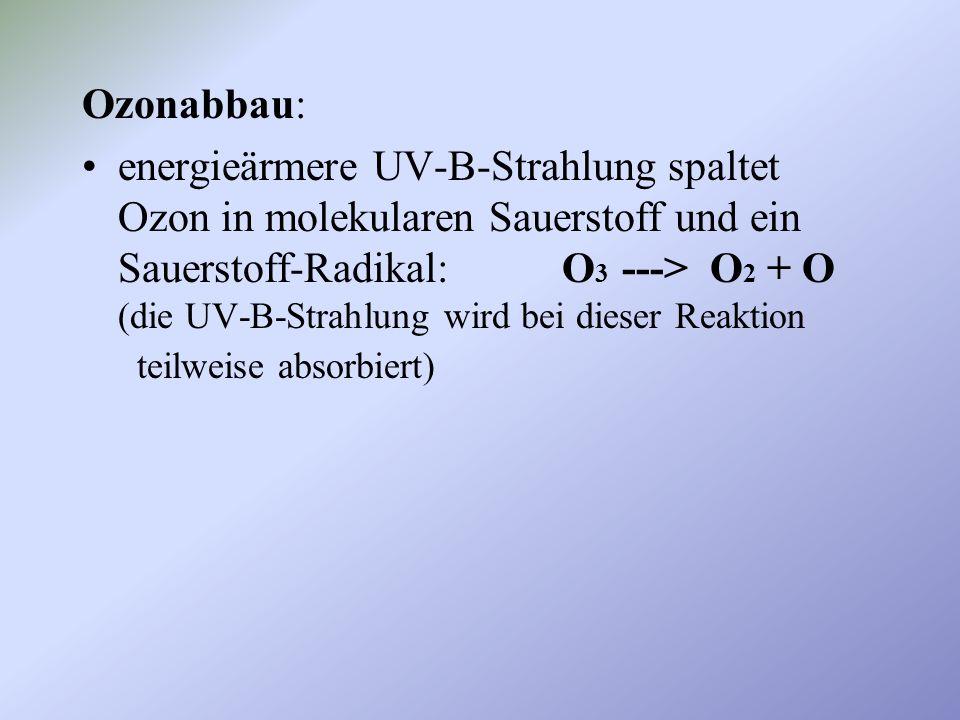 Ozonabbau: