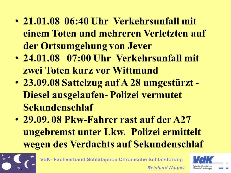 21.01.08 06:40 Uhr Verkehrsunfall mit einem Toten und mehreren Verletzten auf der Ortsumgehung von Jever