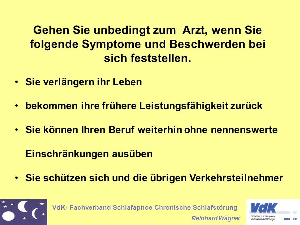 Gehen Sie unbedingt zum Arzt, wenn Sie folgende Symptome und Beschwerden bei sich feststellen.