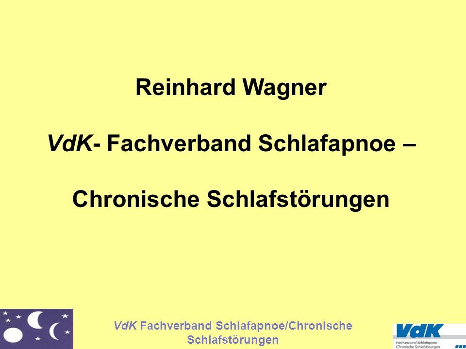 VdK- Fachverband Schlafapnoe – Chronische Schlafstörungen