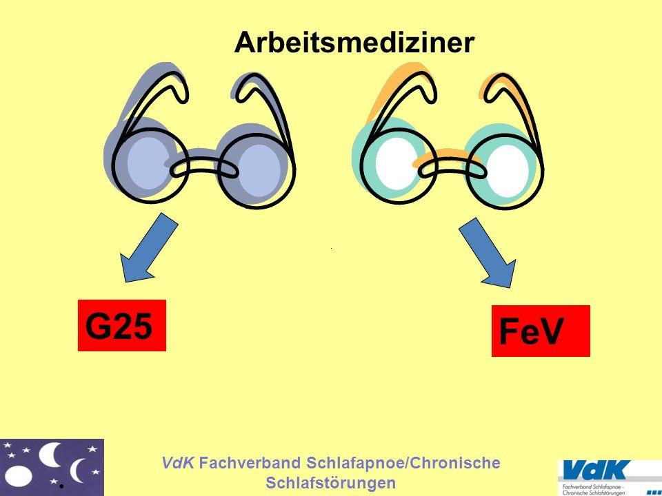 Arbeitsmediziner G25 FeV