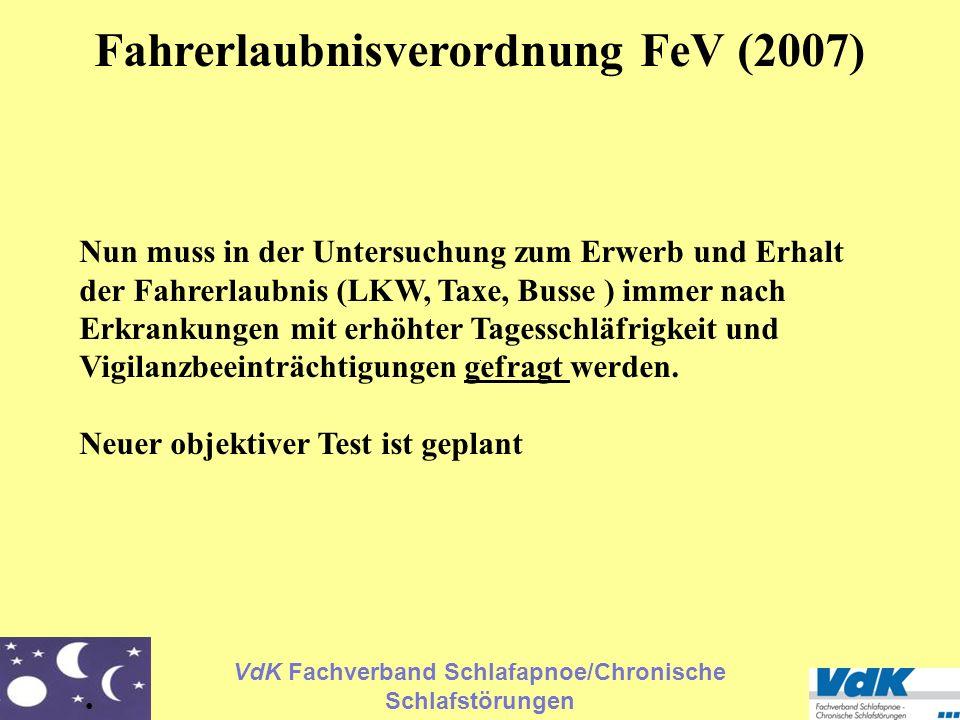 Fahrerlaubnisverordnung FeV (2007)