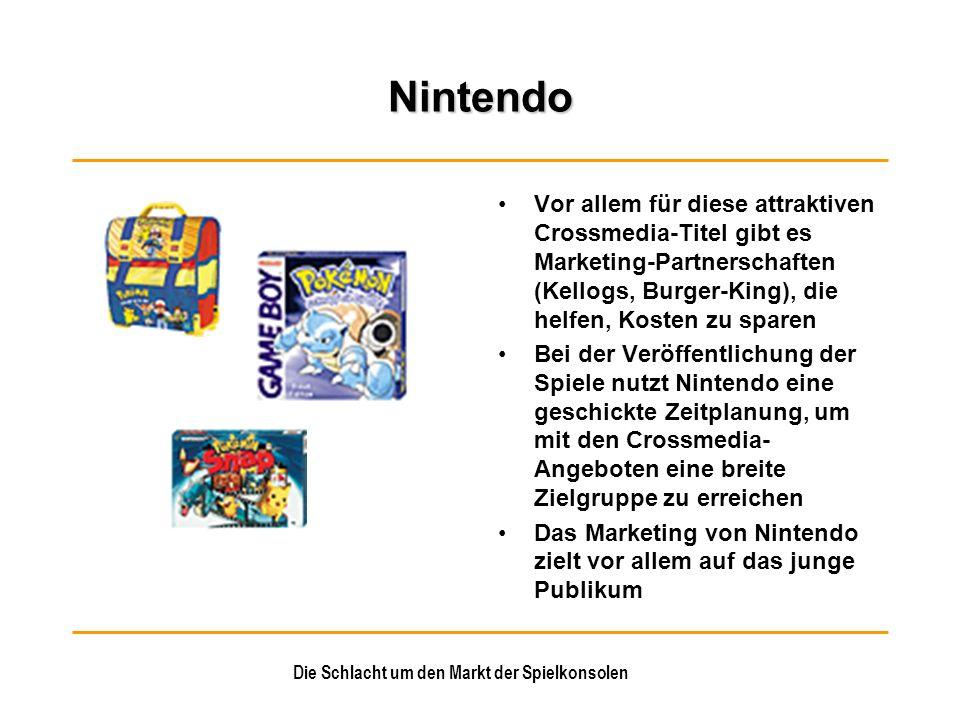 Die Schlacht um den Markt der Spielkonsolen