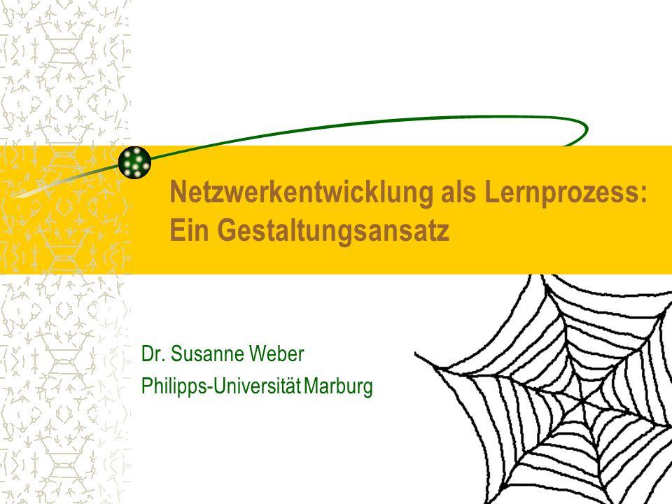 Dr. Susanne Weber Philipps-Universität Marburg
