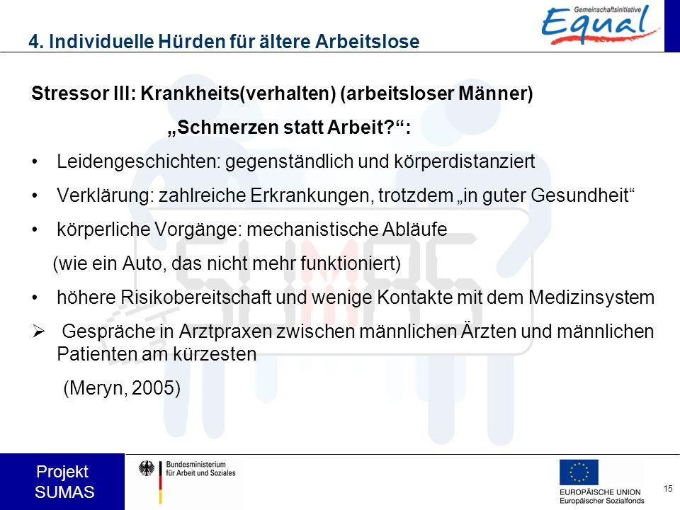 4. Individuelle Hürden für ältere Arbeitslose