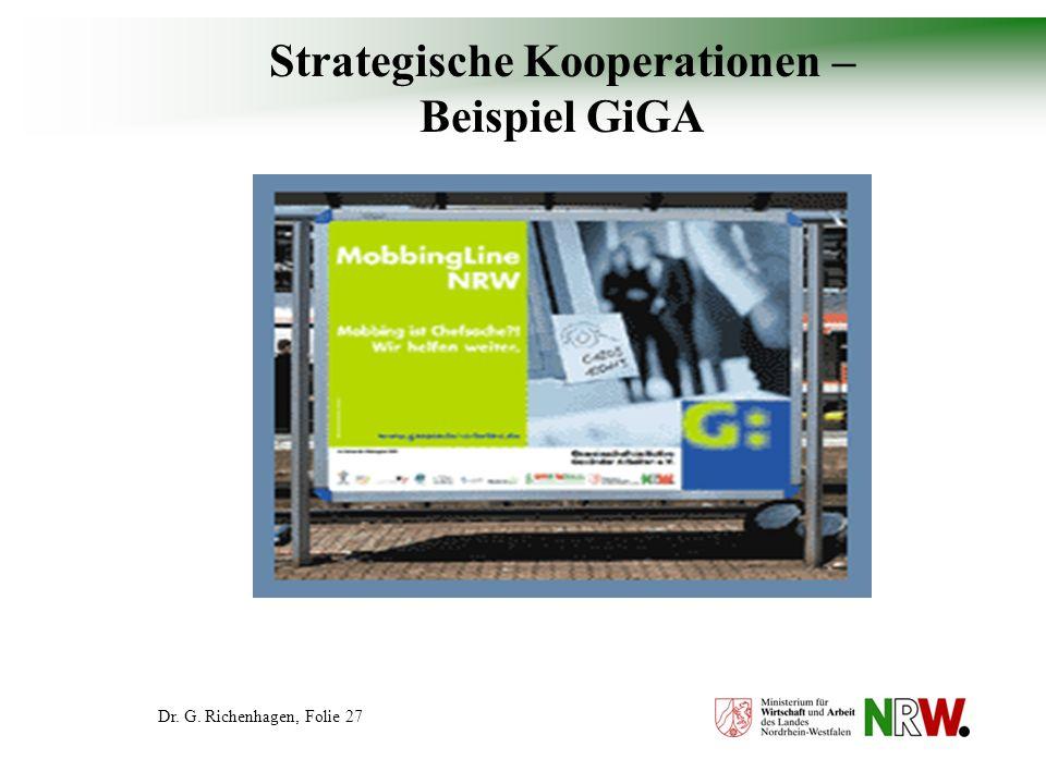 Strategische Kooperationen – Beispiel GiGA
