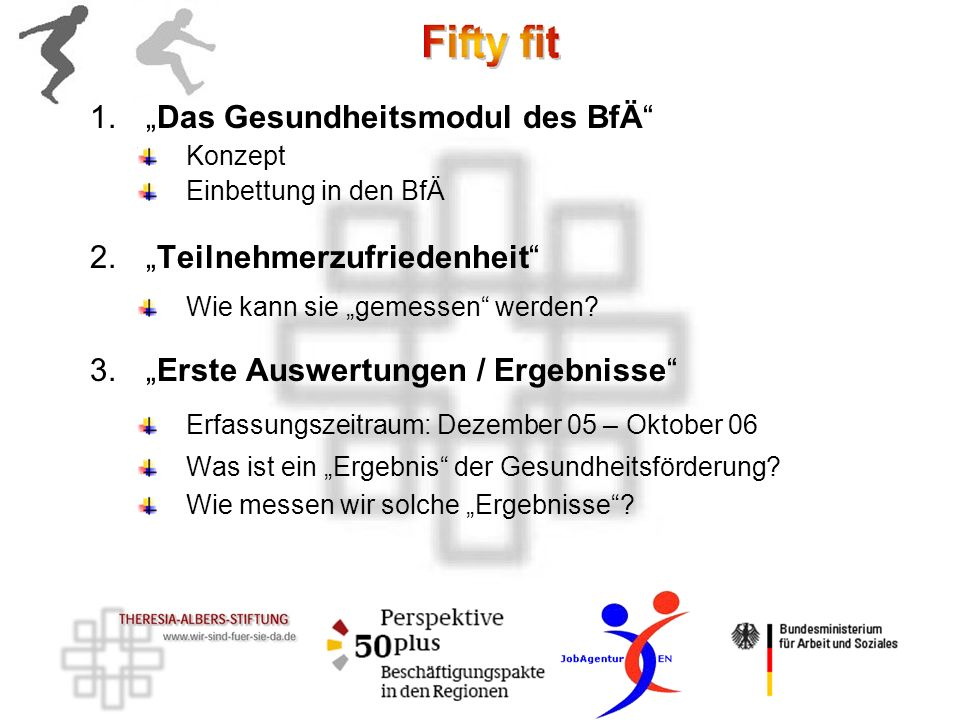 """""""Das Gesundheitsmodul des BfÄ"""