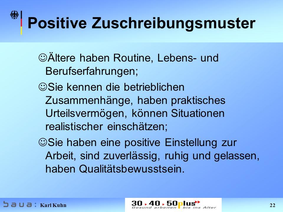 Positive Zuschreibungsmuster