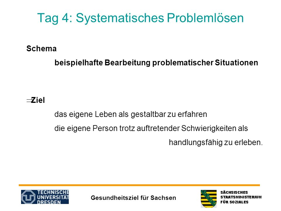 Tag 4: Systematisches Problemlösen