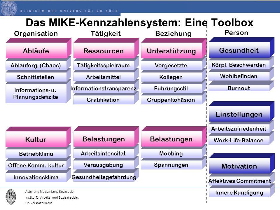 Das MIKE-Kennzahlensystem: Eine Toolbox
