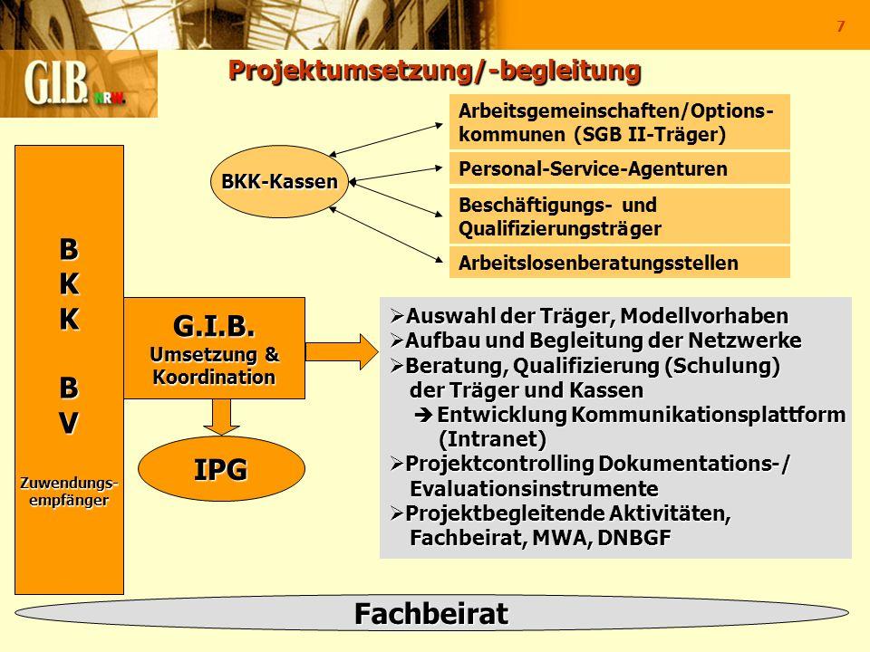 Projektumsetzung/-begleitung