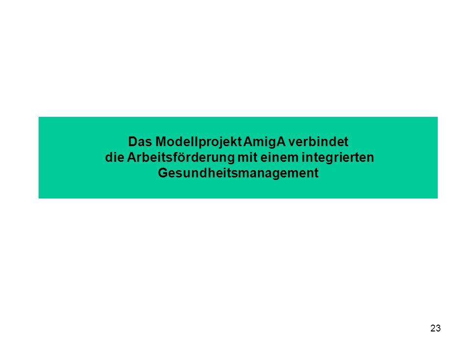 Das Modellprojekt AmigA verbindet