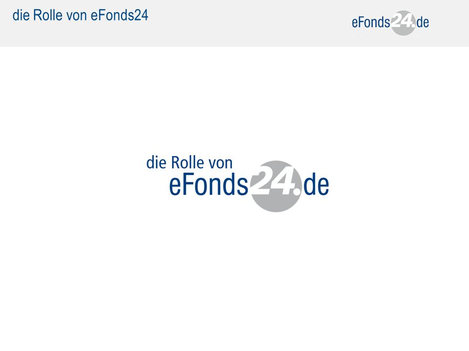 die Rolle von eFonds24