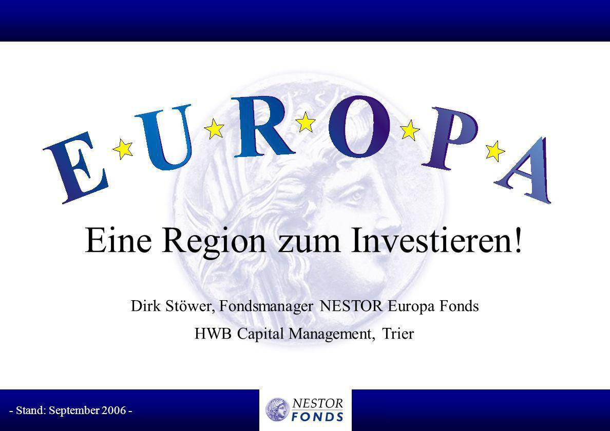 Eine Region zum Investieren!