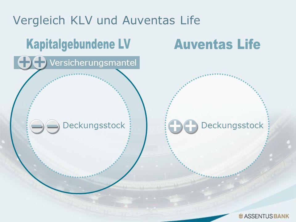 Vergleich KLV und Auventas Life