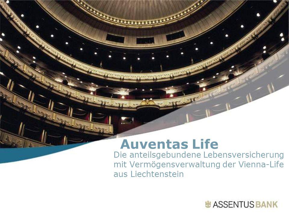 Auventas Life Die anteilsgebundene Lebensversicherung