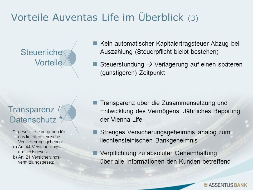 Vorteile Auventas Life im Überblick (3)