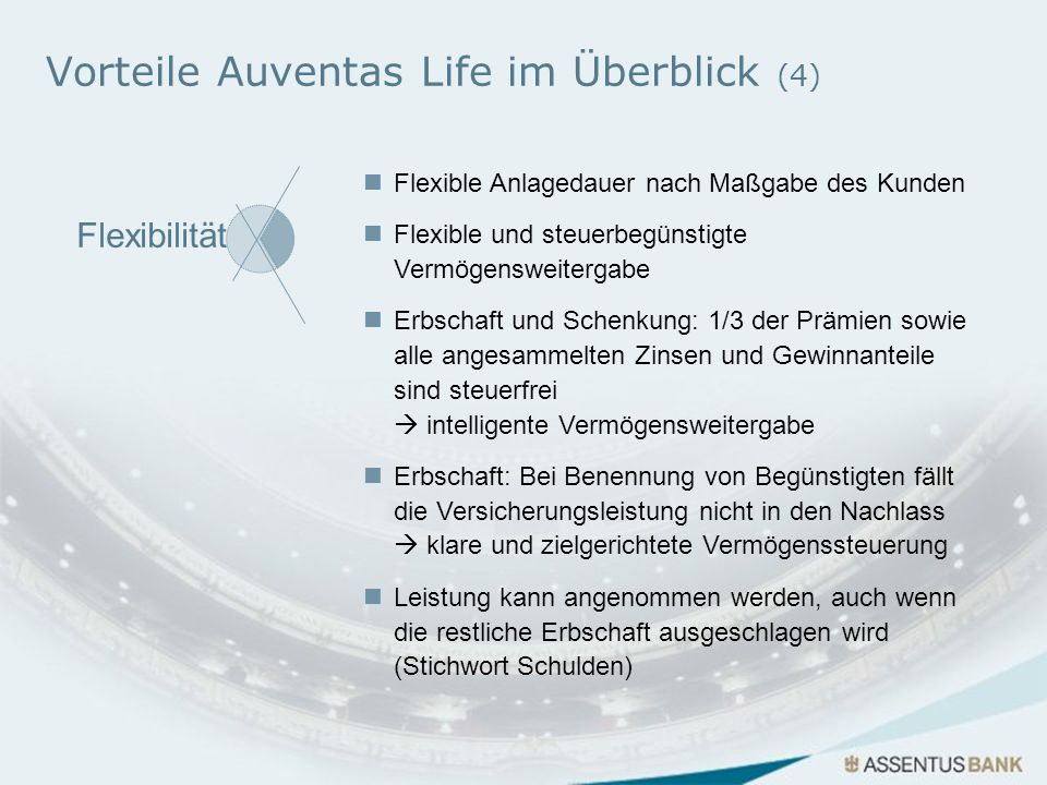 Vorteile Auventas Life im Überblick (4)