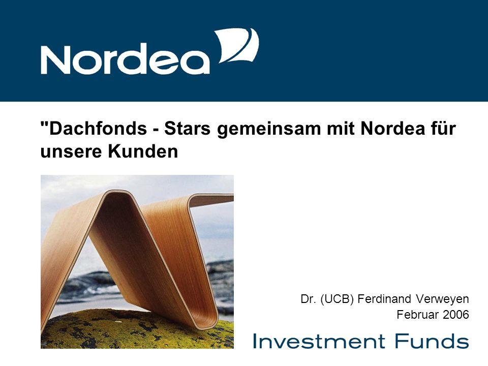 Dachfonds - Stars gemeinsam mit Nordea für unsere Kunden