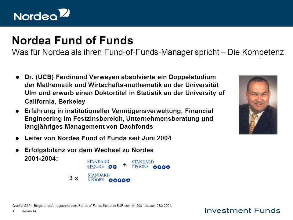 Nordea Fund of Funds Was für Nordea als ihren Fund-of-Funds-Manager spricht – Die Kompetenz
