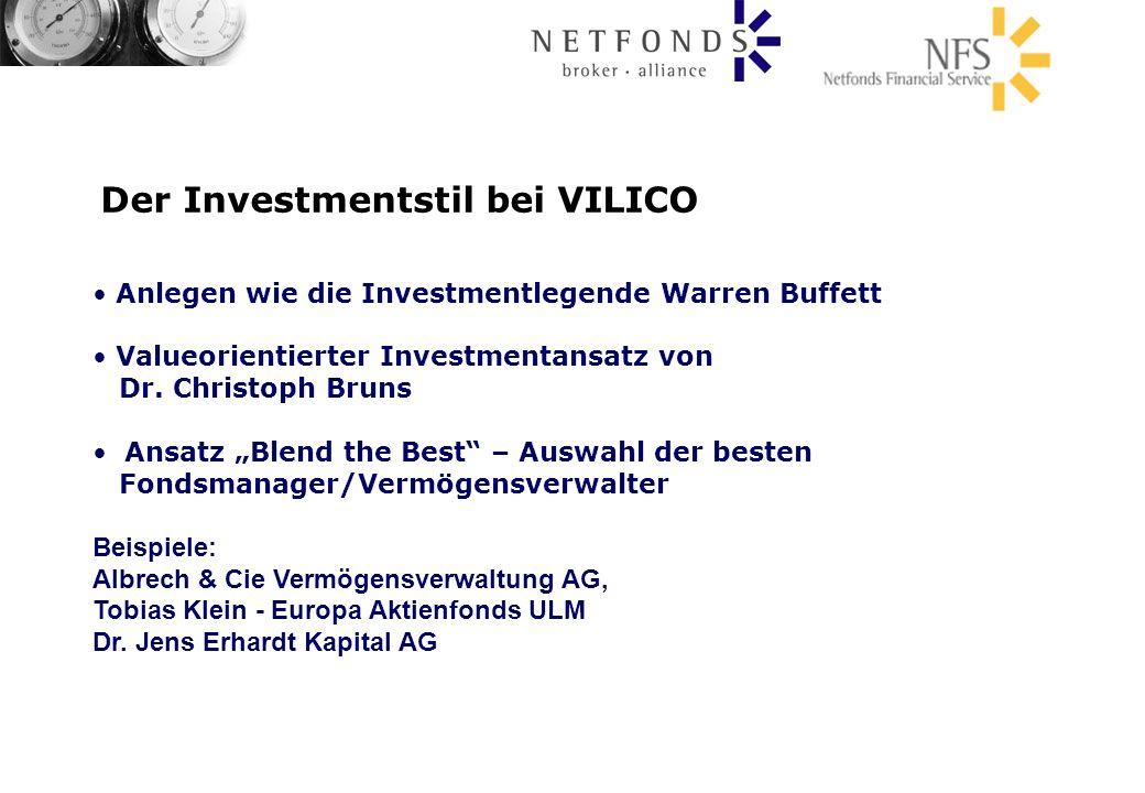 Der Investmentstil bei VILICO