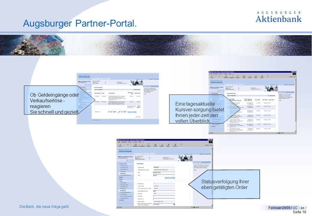 Augsburger Partner-Portal.