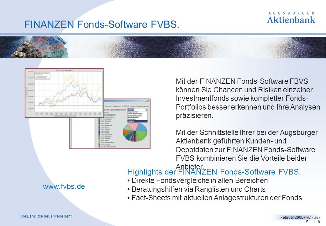 FINANZEN Fonds-Software FVBS.