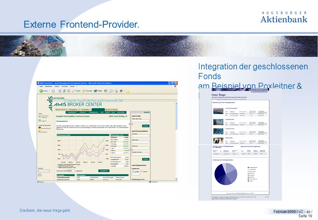 Externe Frontend-Provider.