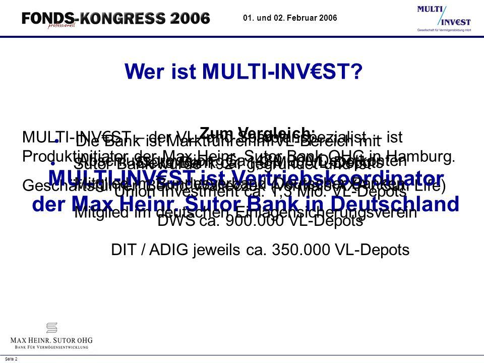 der Max Heinr. Sutor Bank in Deutschland