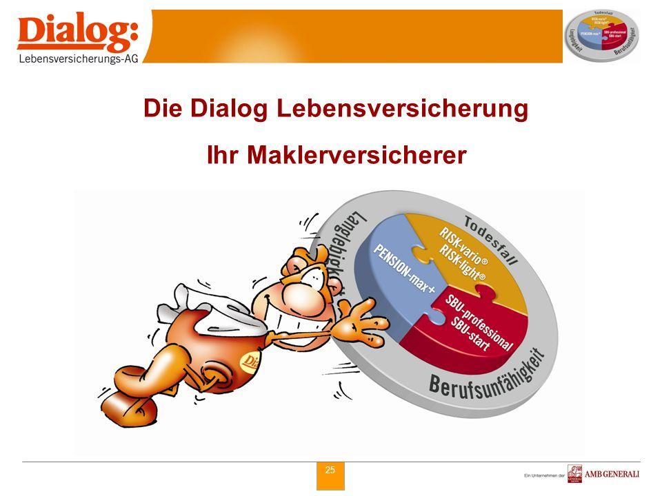 Die Dialog Lebensversicherung Ihr Maklerversicherer