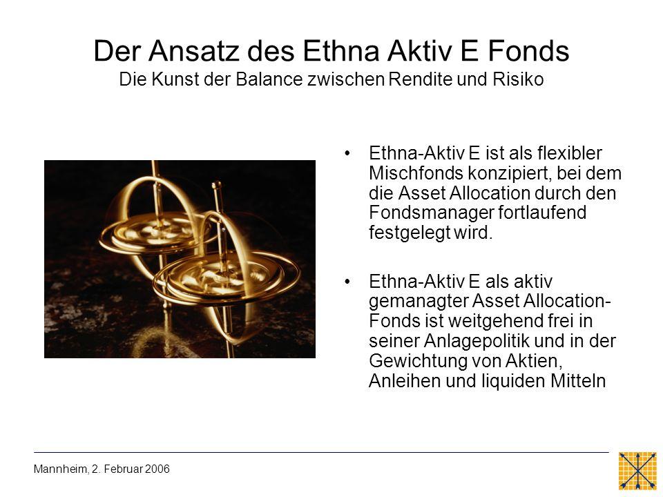 Der Ansatz des Ethna Aktiv E Fonds Die Kunst der Balance zwischen Rendite und Risiko