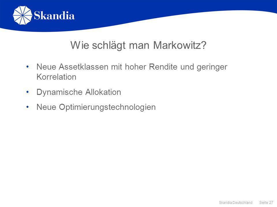 Wie schlägt man Markowitz