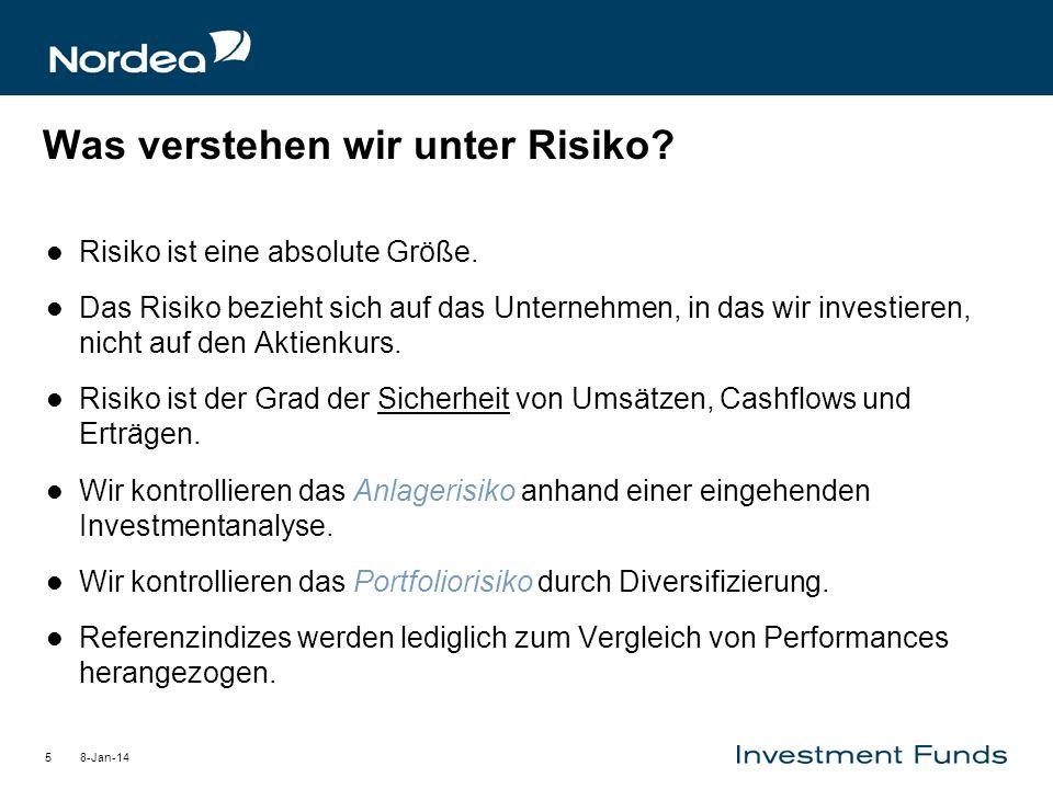 Was verstehen wir unter Risiko